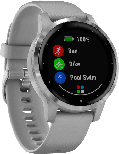 Gray Garmin Vivoactive 4s GPS Sports watch.3