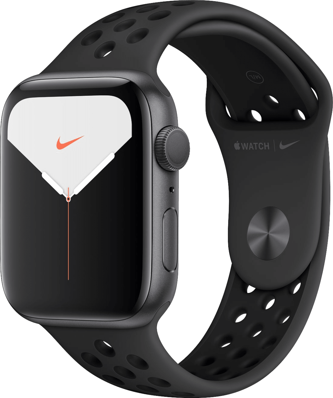 Anthracite / Schwarz Apple Watch Nike Series 5 GPS + Cellular, 44mm.2