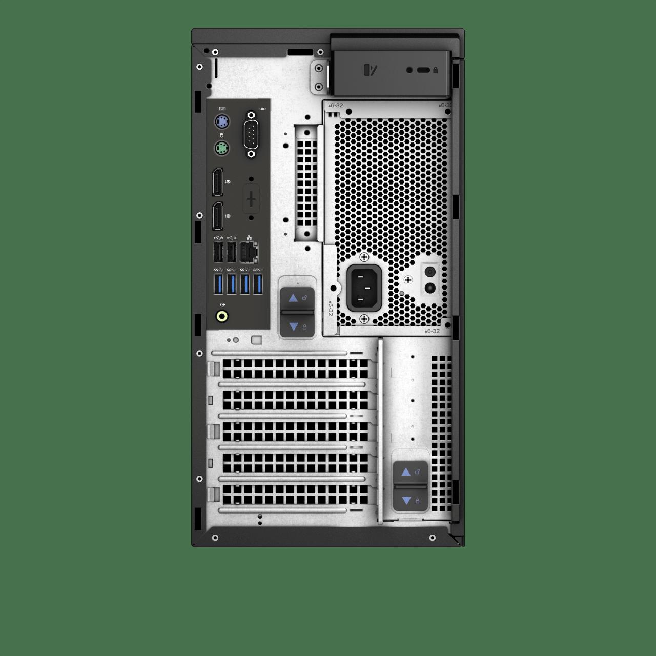 Schwarz Dell Precision 3630.3