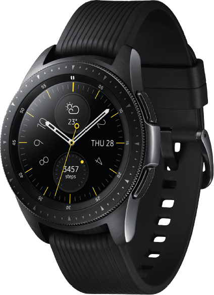 Schwarz Samsung Galaxy Watch, 42mm.2