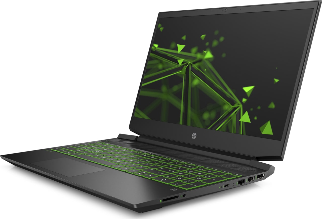 Shadow Black / Acid Green HP Pavilion Gaming 15-ec0005ng.2