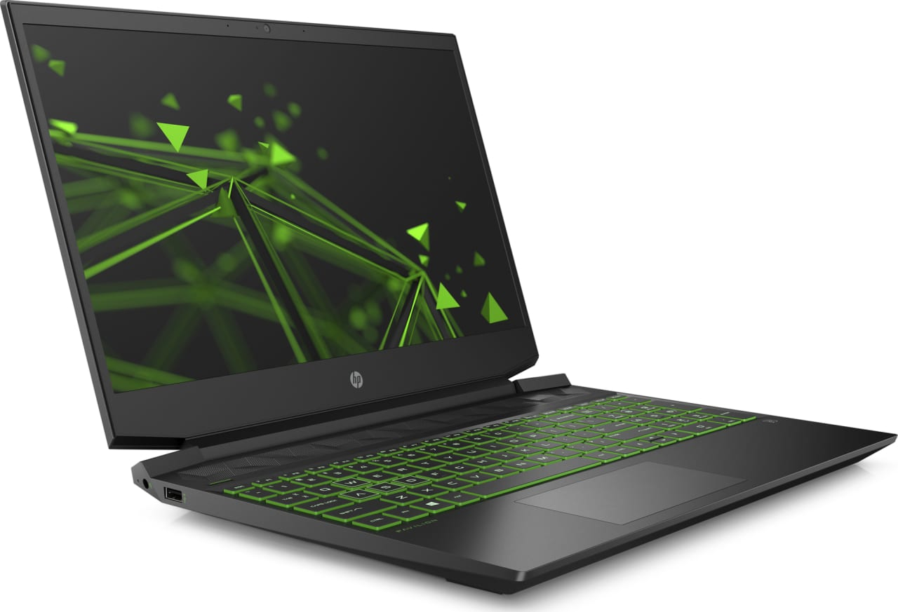 Shadow Black / Acid Green HP Pavilion Gaming 15-ec0005ng.3