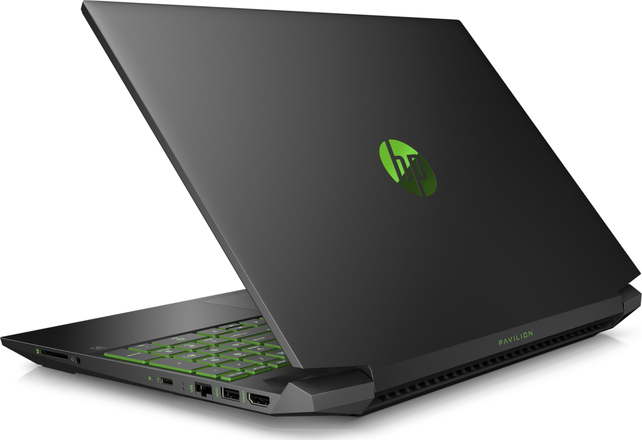 Shadow Black / Acid Green HP Pavilion Gaming 15-ec0020ng.4