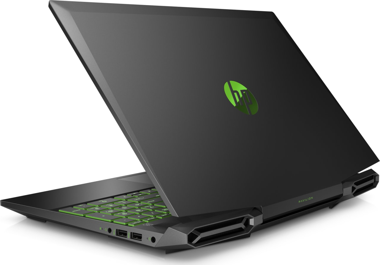 Shadow Black / Acid Green HP Pavilion Gaming 15-dk0010ng.2