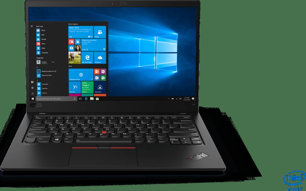 Black Lenovo ThinkPad X1 Carbon G7.1