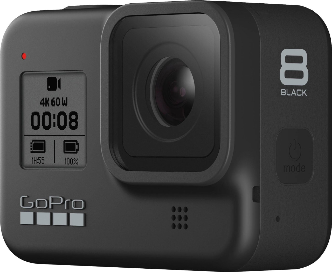 Black GoPro HERO8.2