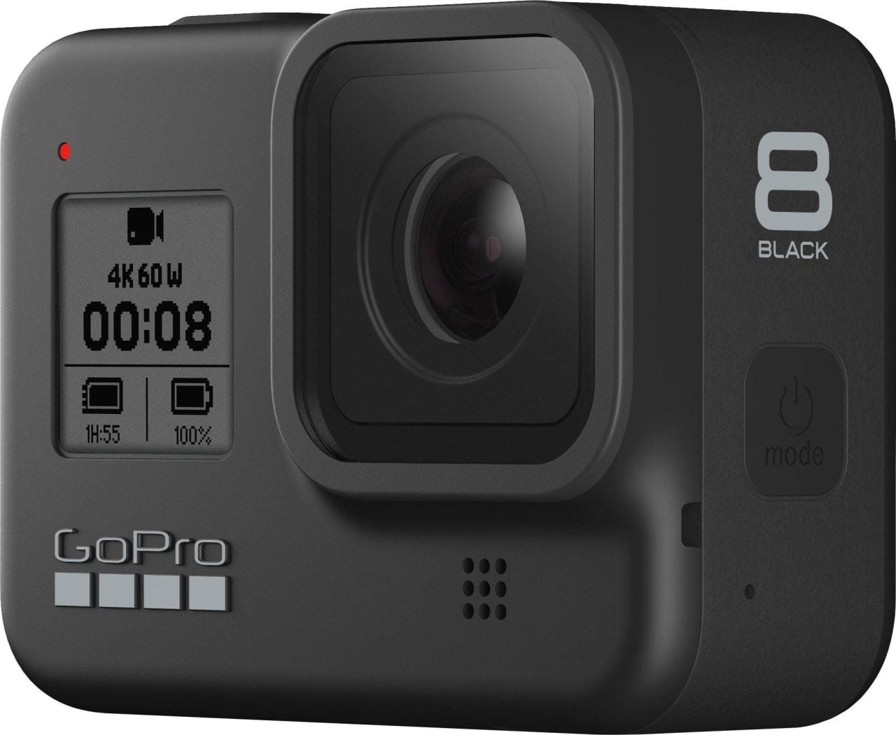 Schwarz GoPro HERO8.2