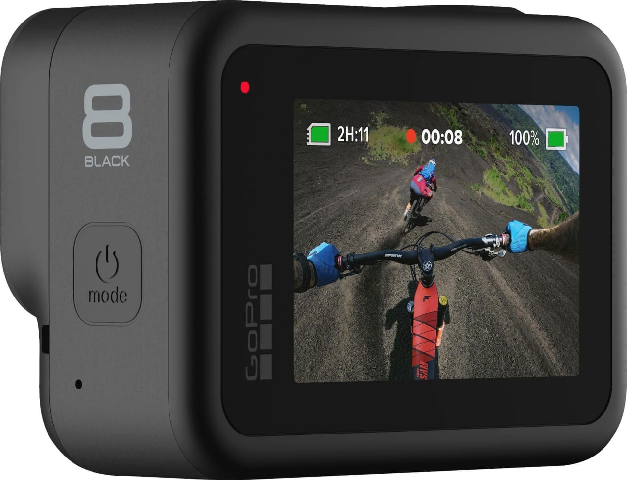 Black GoPro HERO8.3