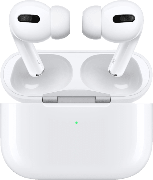 Weiß Apple AirPods Pro with Case Noise-cancelling In-ear Bluetooth-Kopfhörer.1