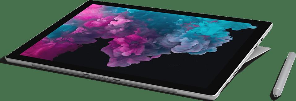 Platin Microsoft Surface Pro 6.2