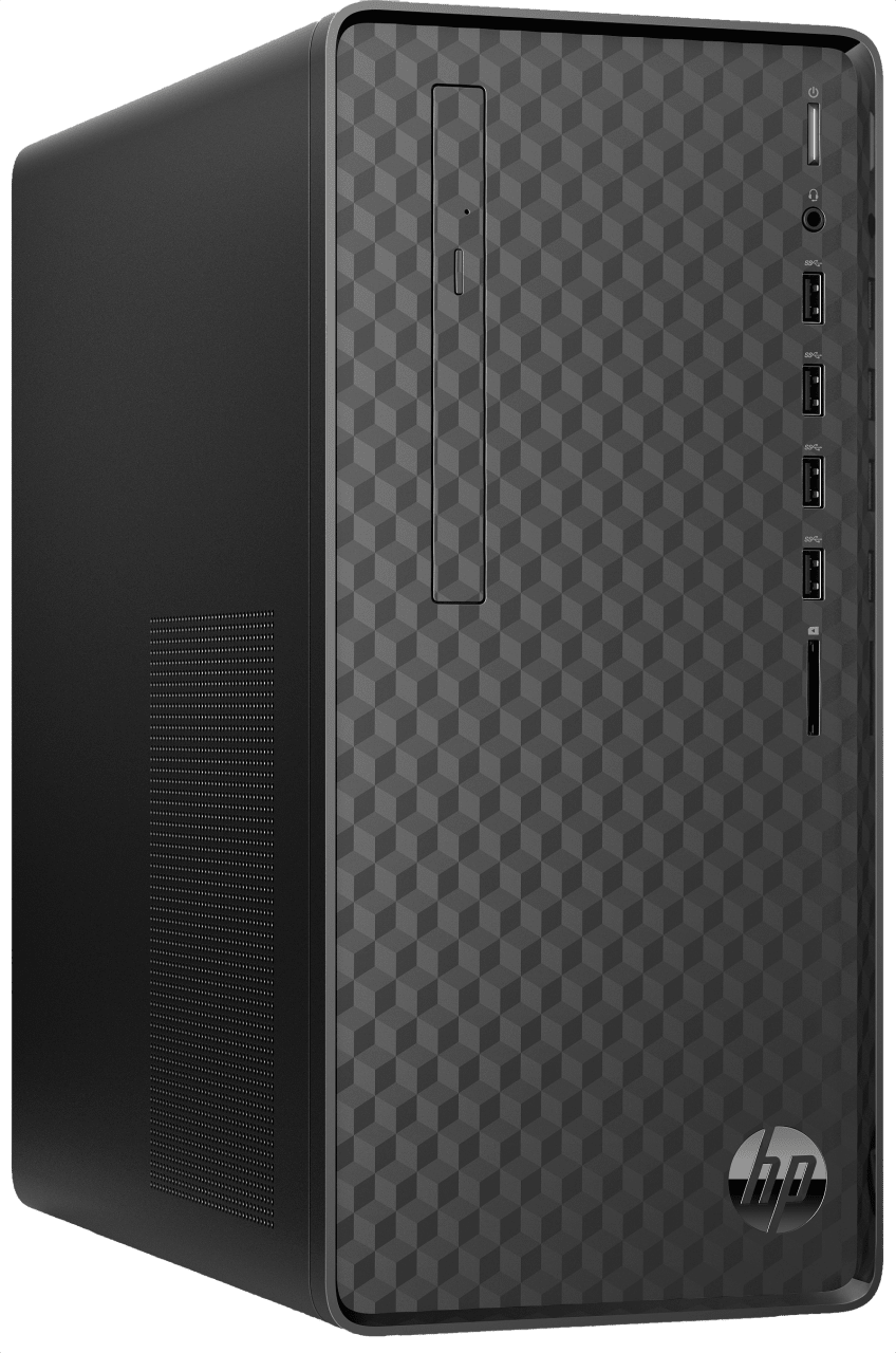 Jet black HP Desktop M01-F0039ng.2