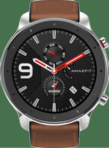 Edelstahlgehäuse & Braun Amazfit GTR, 47.2mm.2