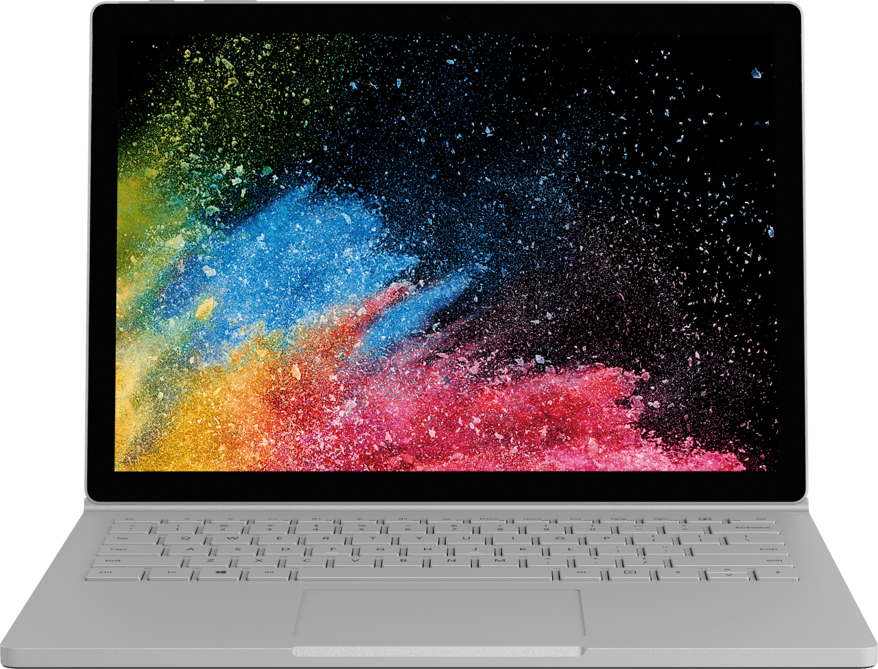 "Silver Microsoft Surface Book 2 13.5"".2"