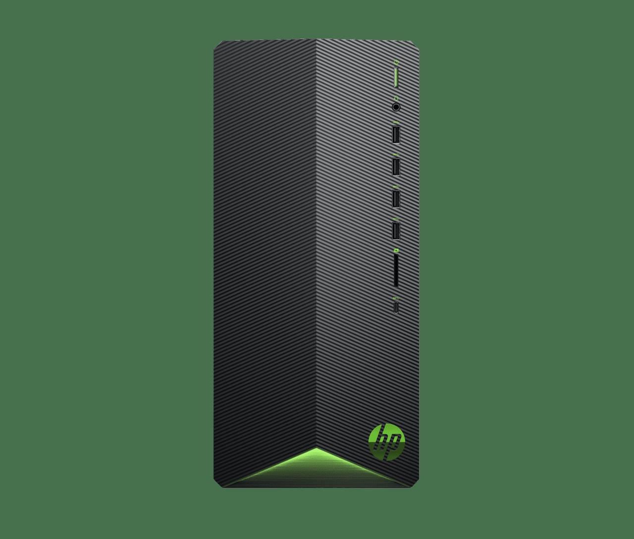 Black HP Pavilion Gaming Desktop TG01-0023ng.1