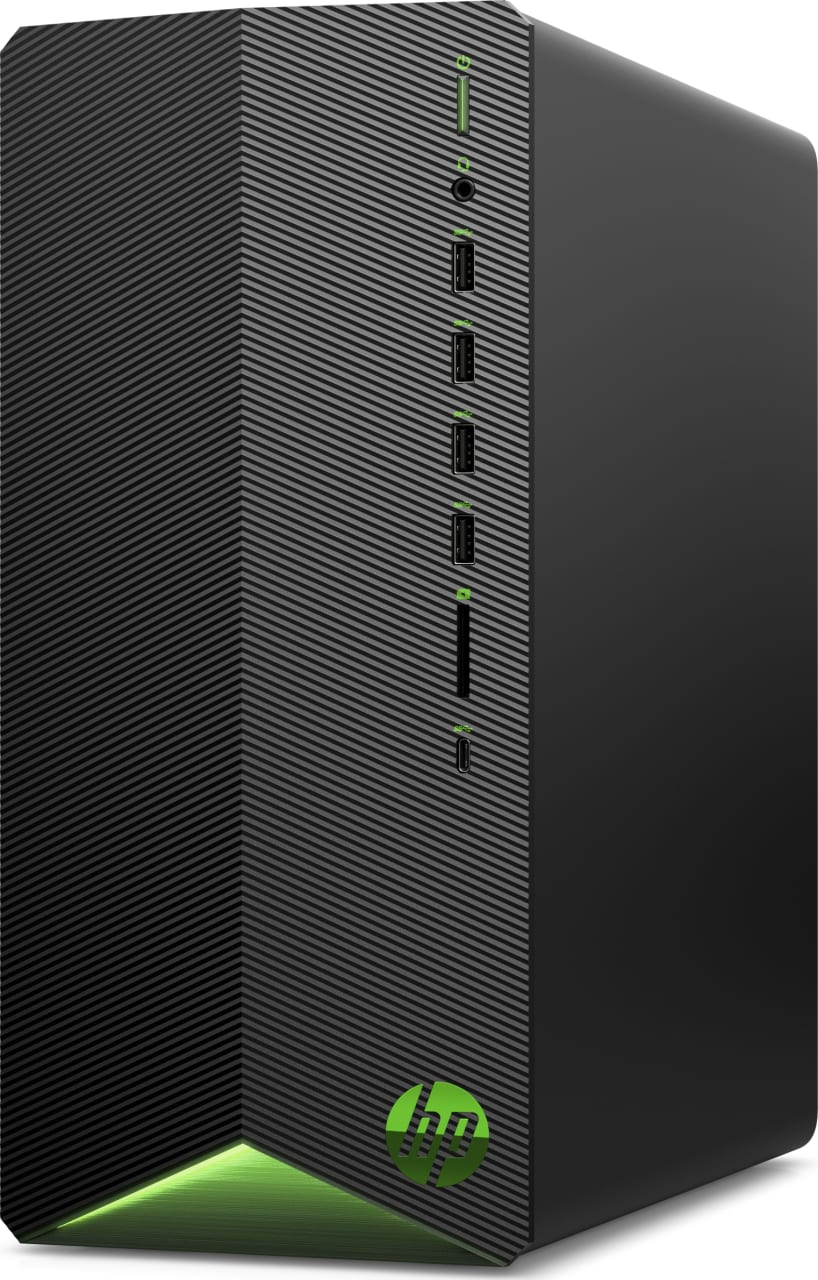 Schwarz HP Pavilion Gaming Desktop TG01-0023ng.3