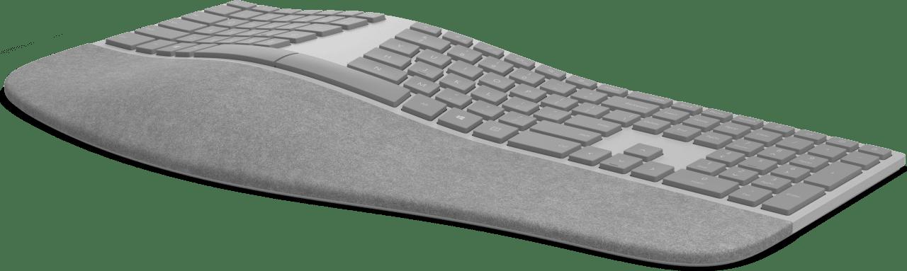 Grey Microsoft Surface Ergonomic Keyboard.2