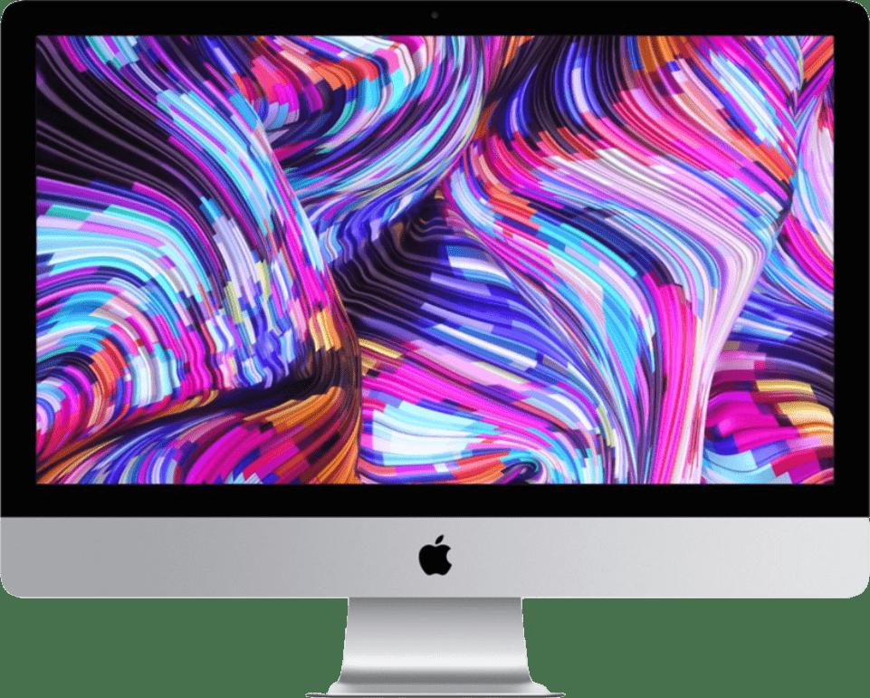 "Silber Apple iMac 27"" Retina 5K (Early 2019) - English (QWERTY).1"