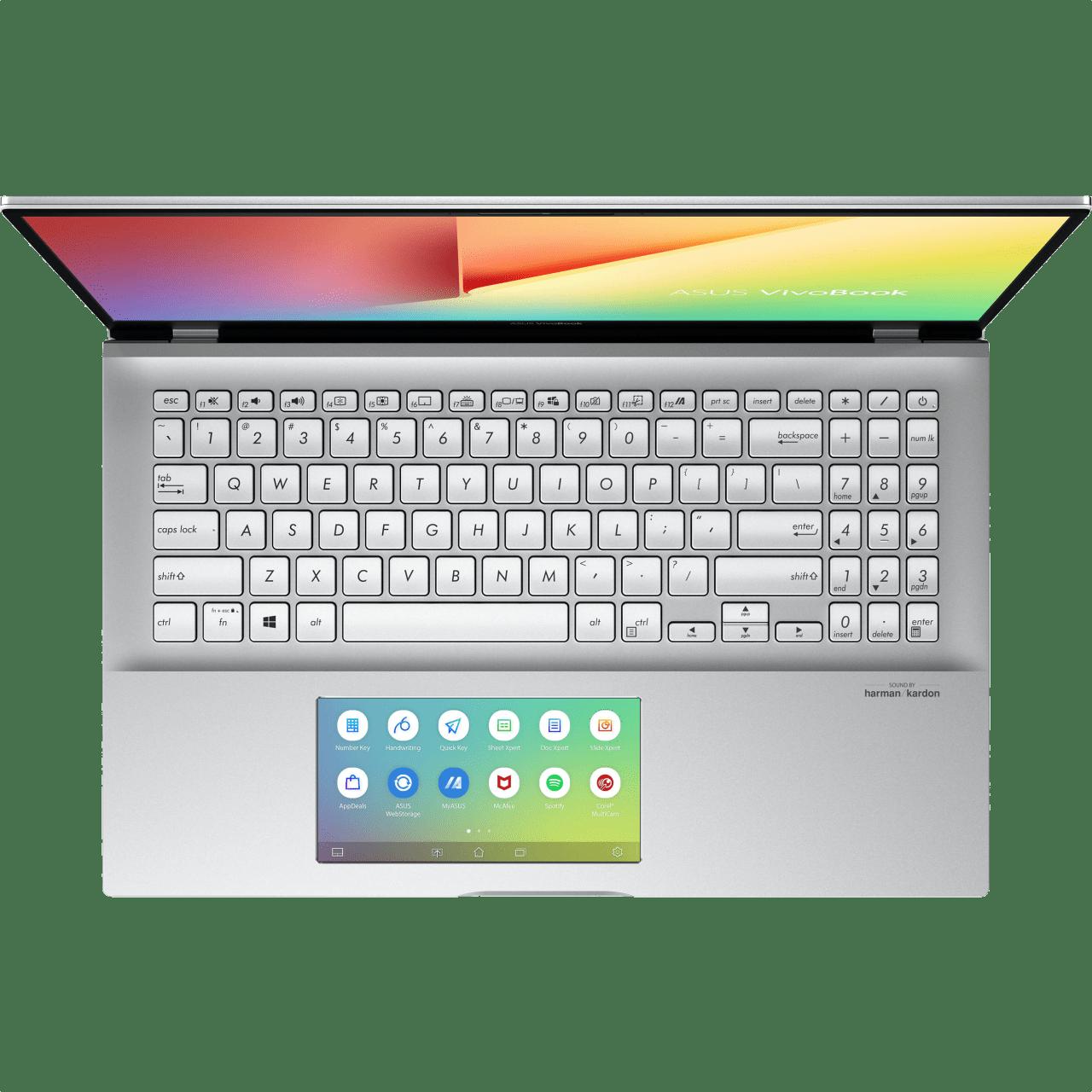Transparent Silver Asus VivoBook S15.4
