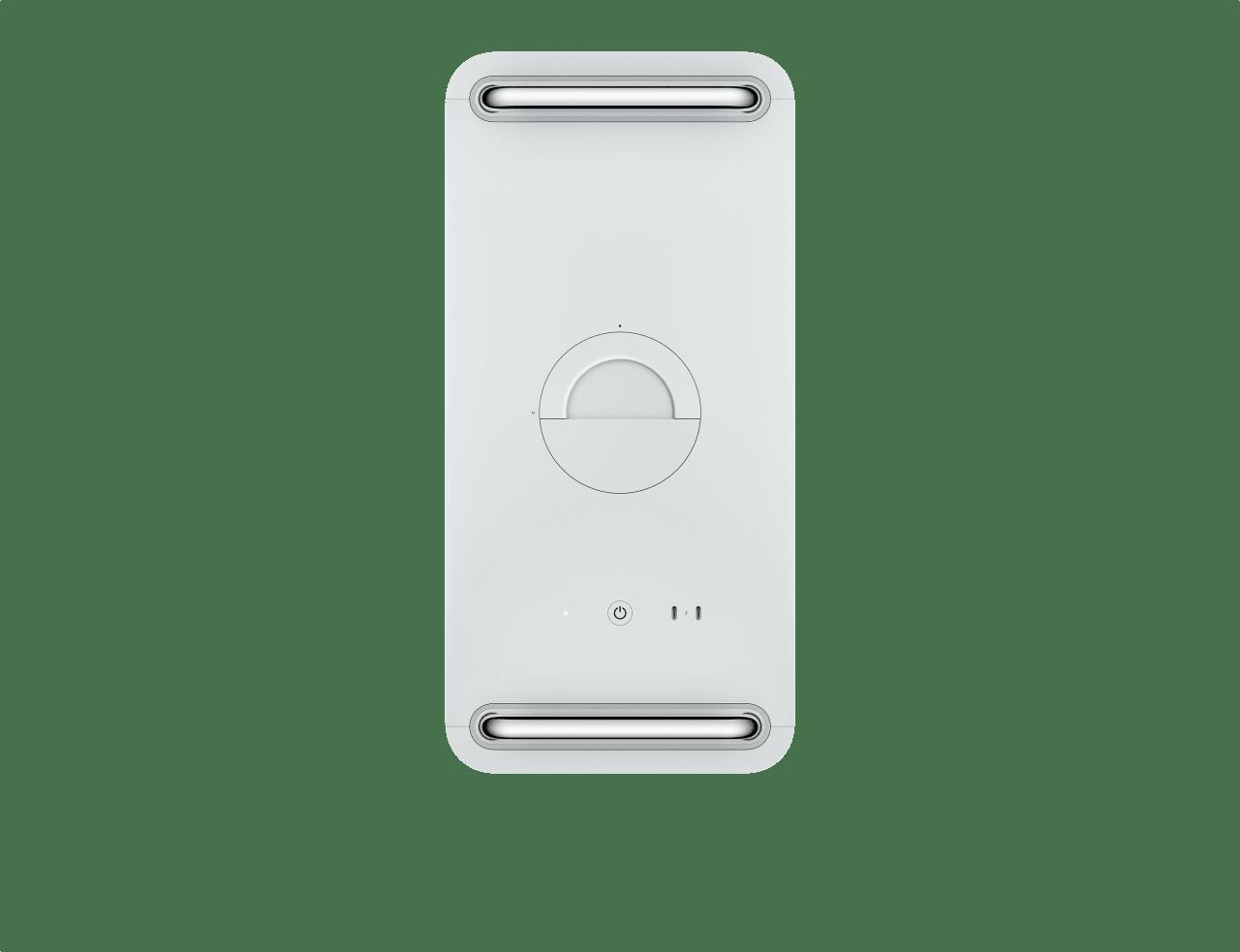 Silber Apple Mac Pro.2