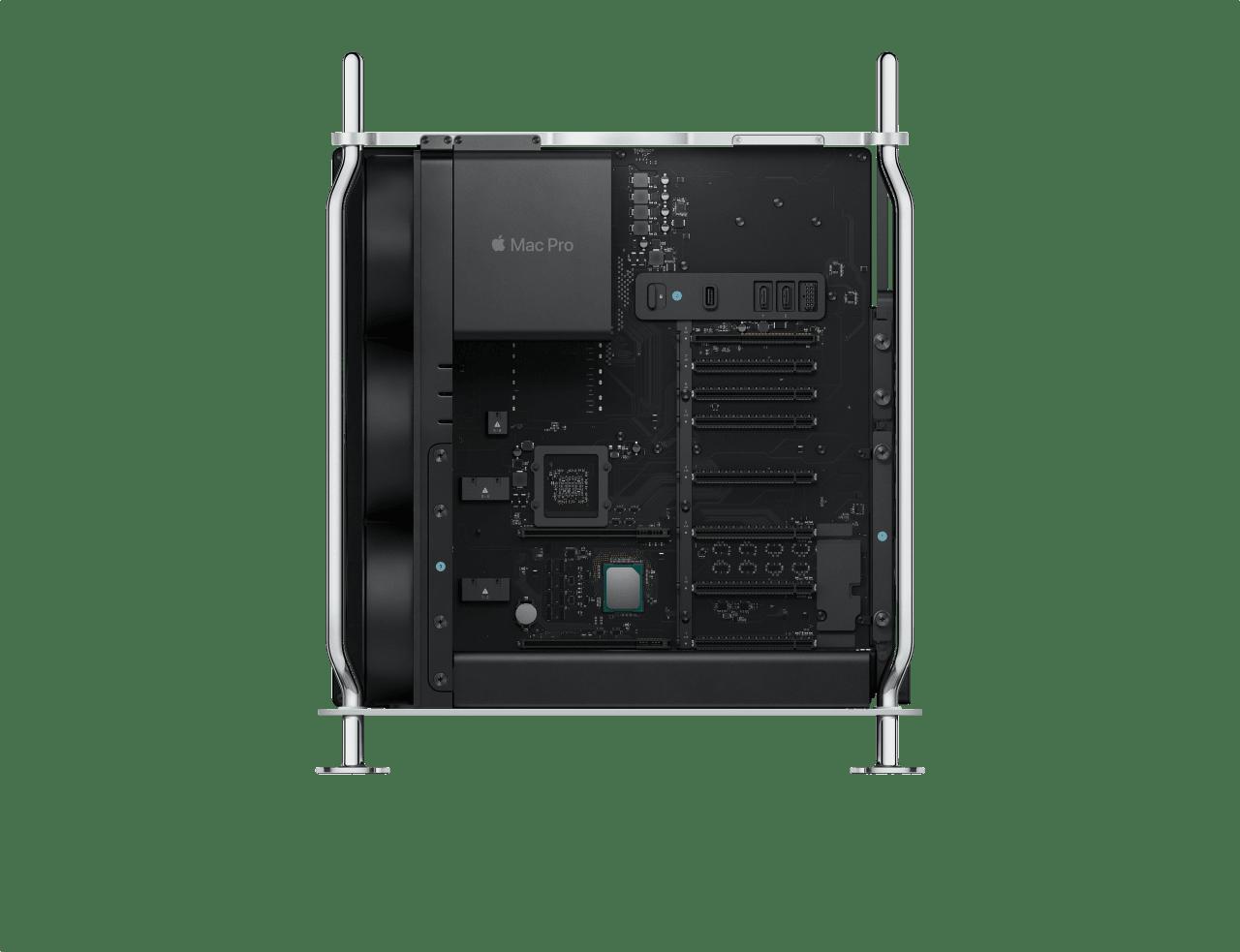 Silber Apple Mac Pro.4