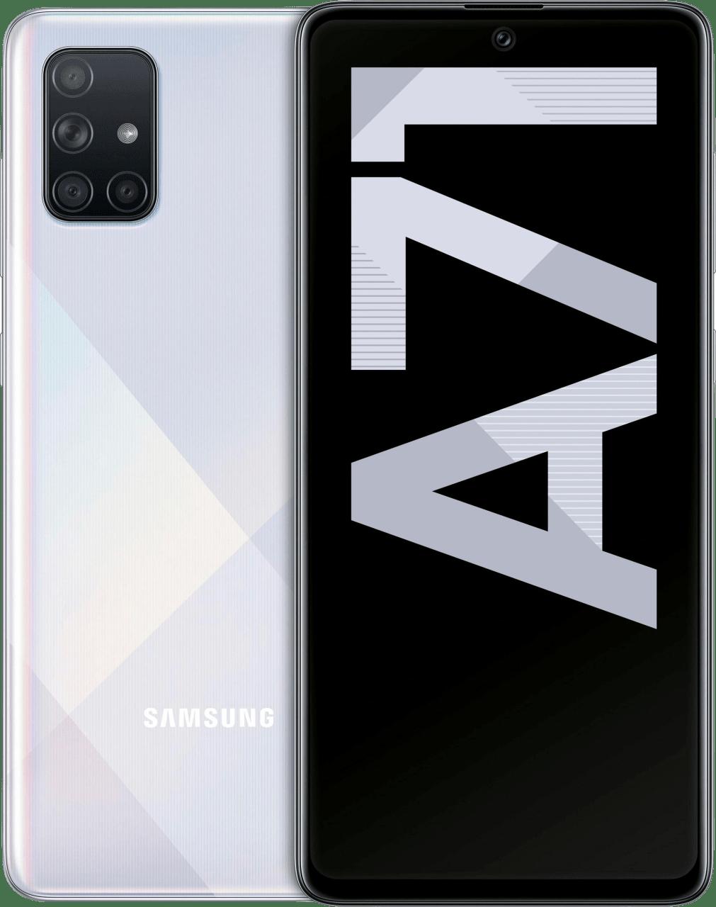 Silver Samsung Galaxy A71 128GB.1