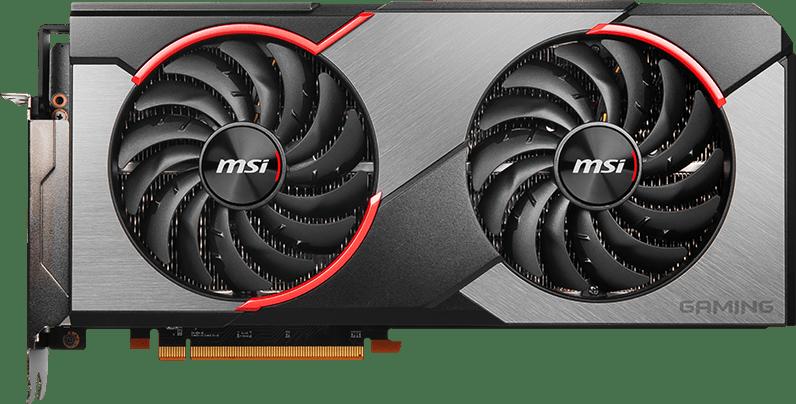Schwarz MSI Radeon RX 5700 XT Gaming X.1