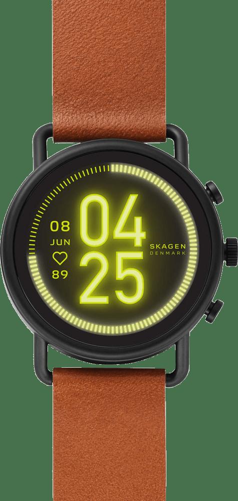 Brown Skagen Falster 3 Smartwatch.1