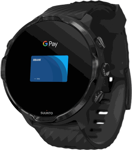 Black Suunto 7 GPS Sports watch.1