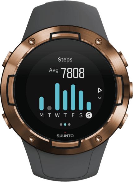 Gris Suunto 5 G1 GPS Sports watch.2