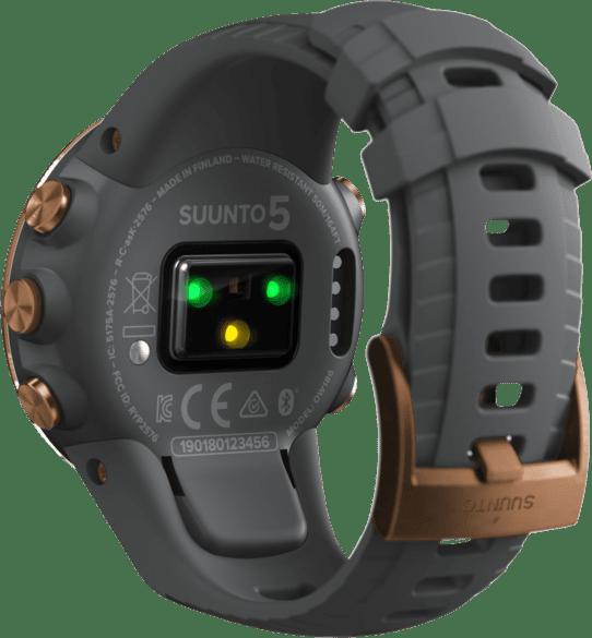 Gris Suunto 5 G1 GPS Sports watch.4