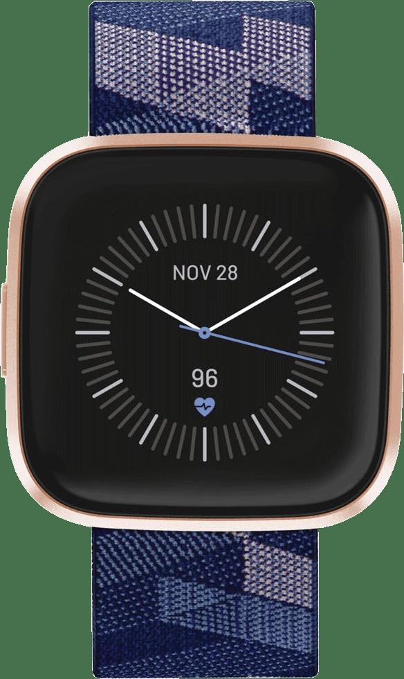 Navy blue/Pink Fitbit Versa 2 SE Smartwatch.2