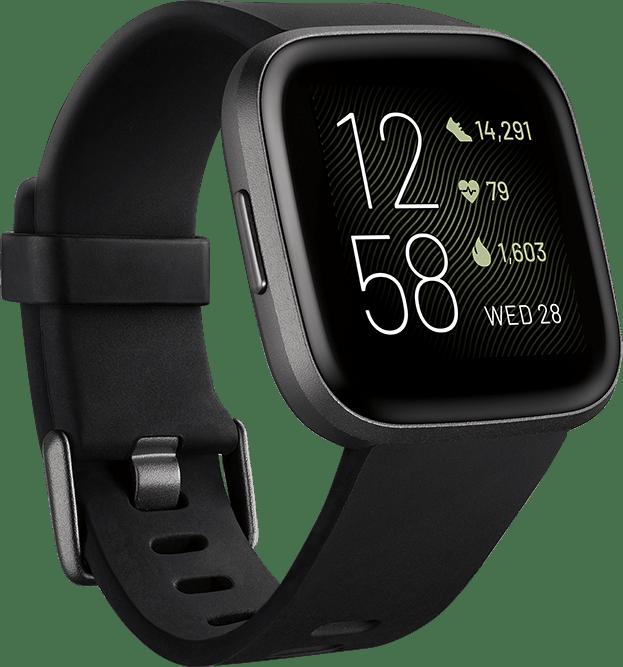 Schwarz Fitbit Versa 2.1