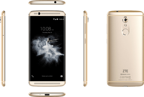 Gold ZTE Axon 7 Mini 32GB.3