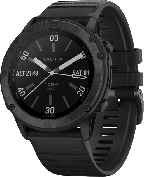 Black Garmin Tactix® Delta - Sapphire Edition GPS Sports watch.1