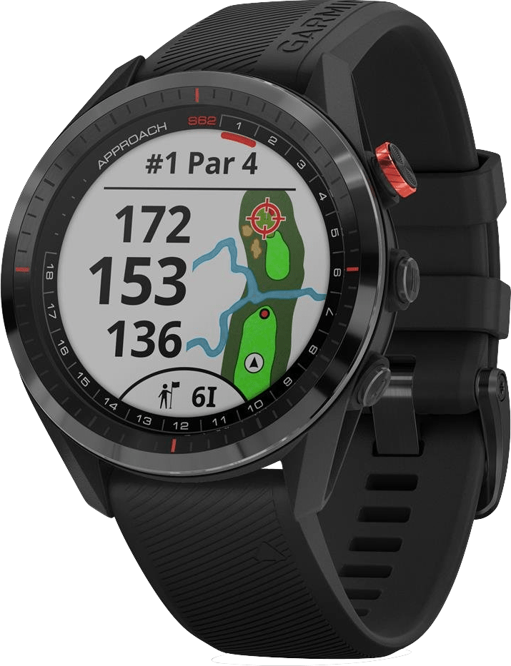 Zwart Garmin Approach® S62 Premium Golf GPS Watch.1