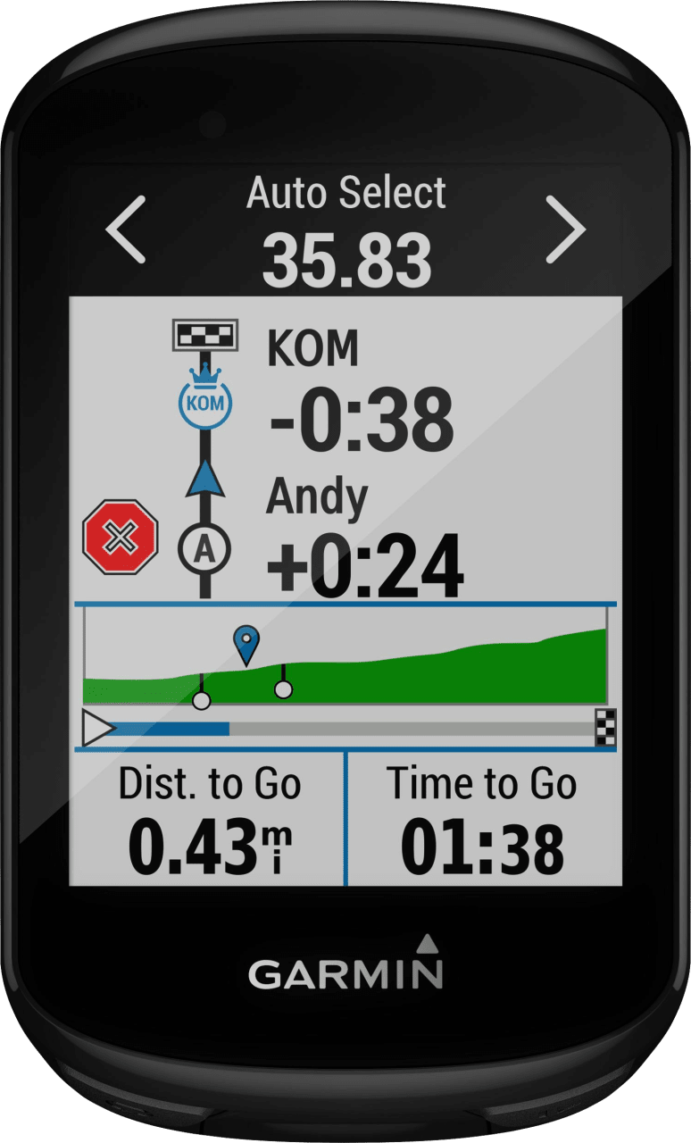 Black Garmin Edge® 830 GPS Bike Computer.3