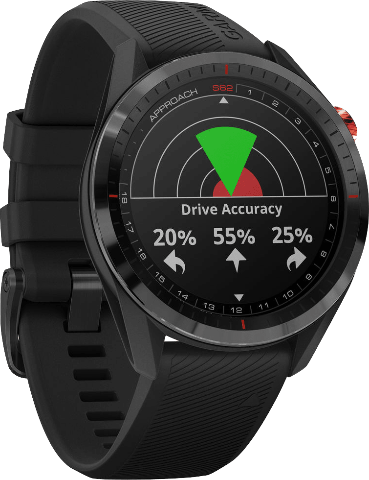 Zwart Garmin Approach® S62 Premium Golf GPS Watch.2
