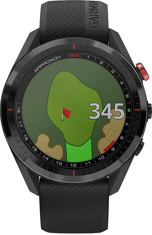 Zwart Garmin Approach® S62 Premium Golf GPS Watch.3