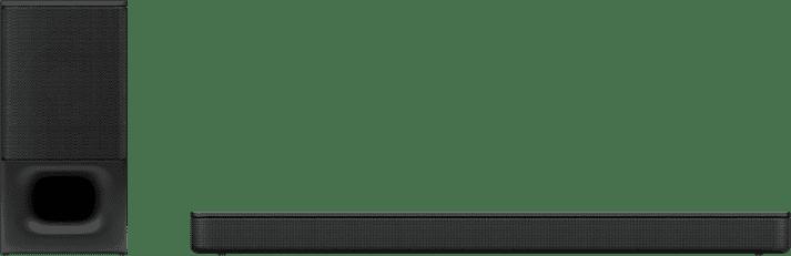 Black Sony HT-S350 Soundbar + Subwoofer.1