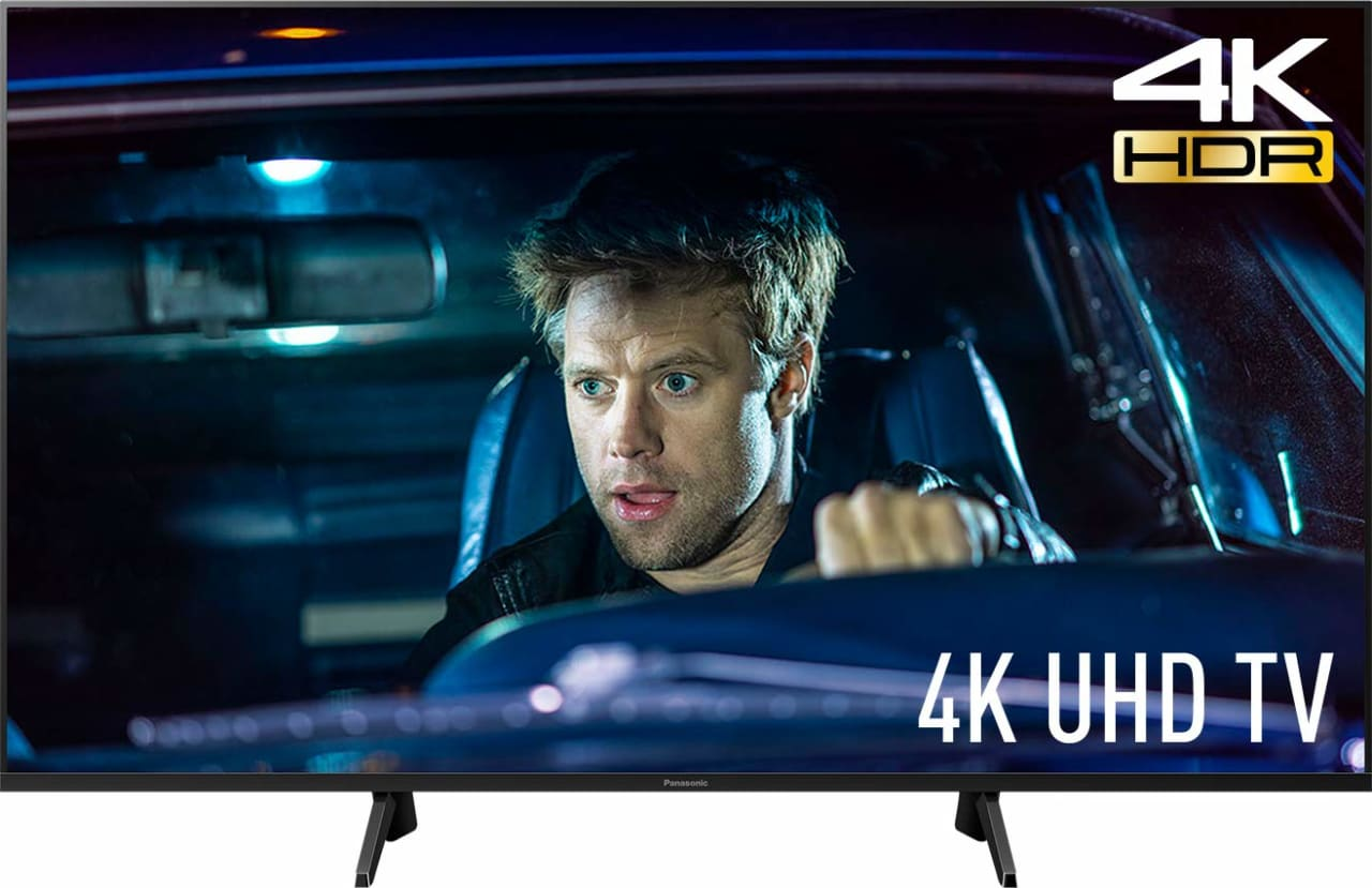 "Schwarz Panasonic TV 50"" GXW704.1"