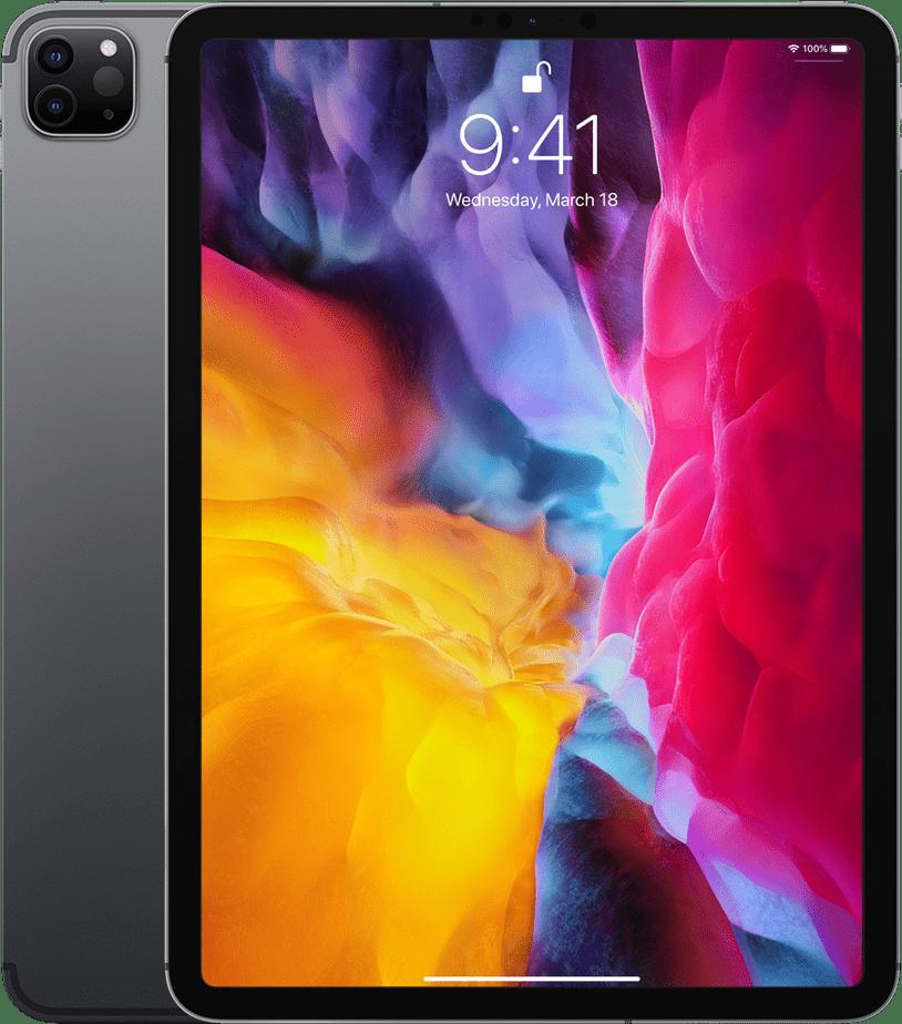 """Space Grey Apple 11"""" iPad Pro Wi-Fi + LTE 256GB (2020).1"""