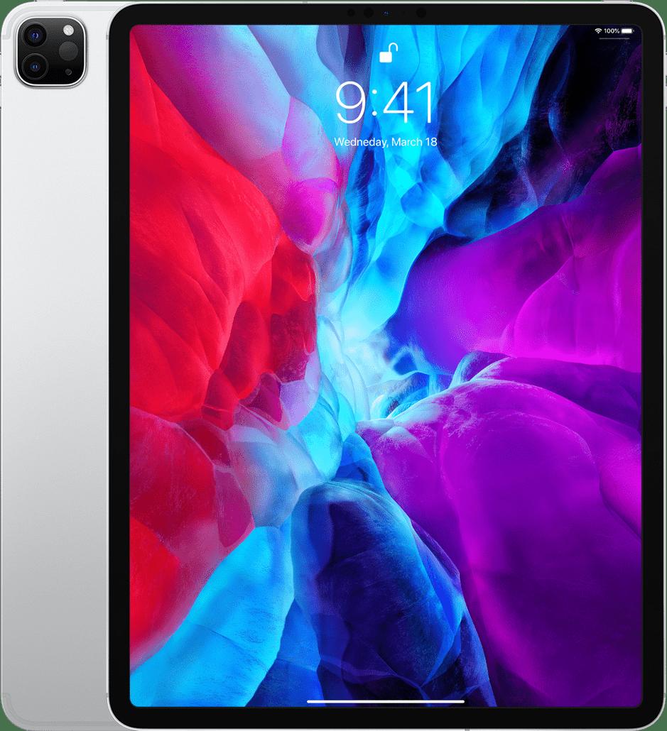 "Silver Apple 12.9"" iPad Pro Wi-Fi + LTE 256GB (2020).1"