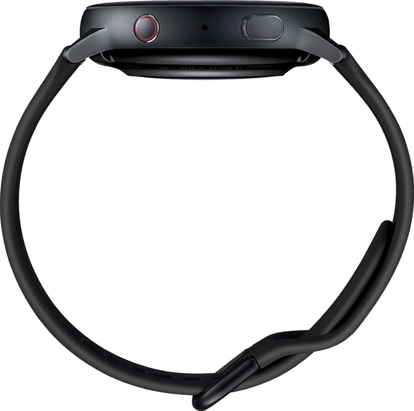 Aqua Black Samsung Galaxy Watch Active2 LTE, 44mm Aluminium case, Fluororubber Strap.4