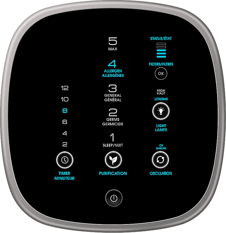 Schwarz Honeywell AirGenius 5.4
