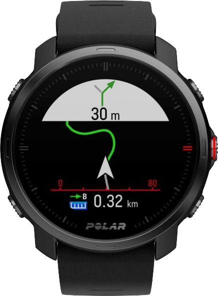 Black Polar Grit X GPS Sports watch, M/L.2