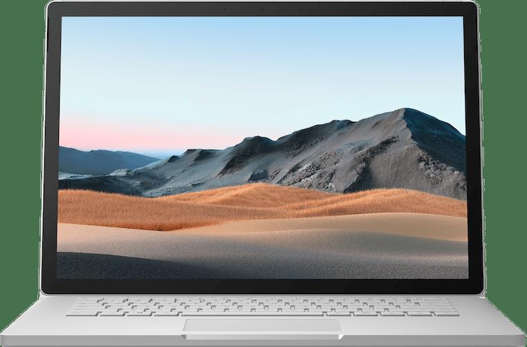 "Platinum Microsoft Surface Book 3 15"".3"