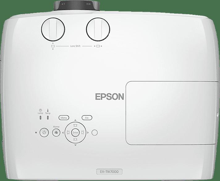 Weiß Epson EH-TW7000 Beamer.4