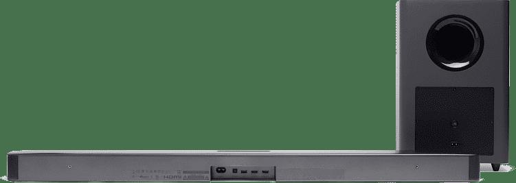 Black JBL Bar 2.1 Soundbar + Subwoofer.2