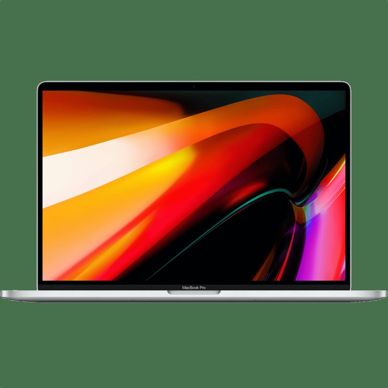 """Silver Apple 16"""" MacBook Pro (Late 2019) - English (QWERTY) Laptop - Intel® Core™ i9-9880H - 16GB - 1TB SSD - AMD Radeon Pro 5500M.1"""