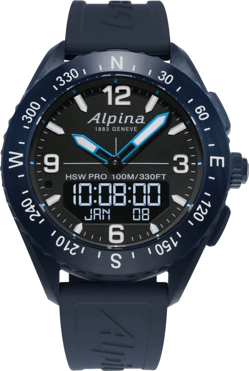 Dark blue / Black Alpina AlpinerX Smartwatch.1